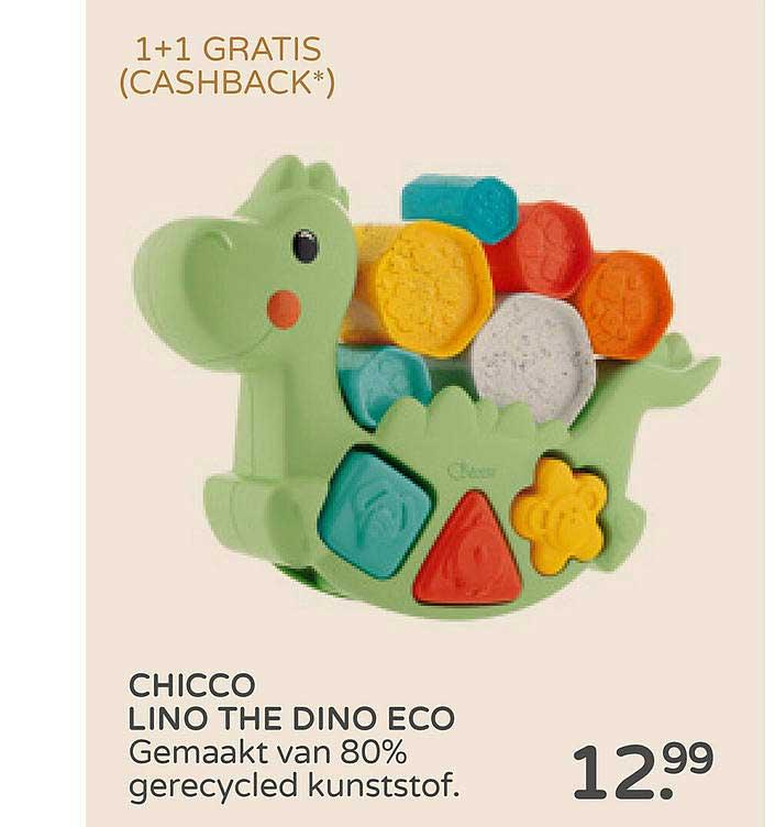 Prénatal Chicco Lino The Dino Eco