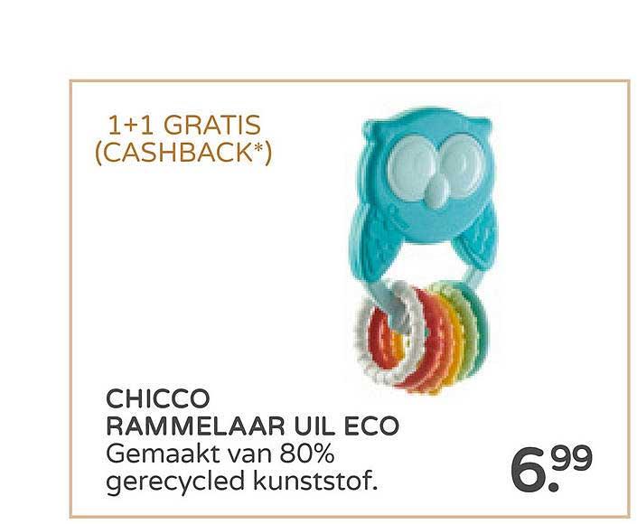 Prénatal Chicco Rammelaar Uil Eco