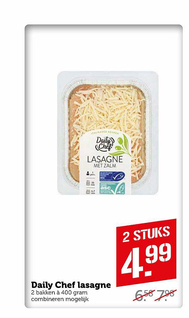 Coop Daily Chef Lasagne