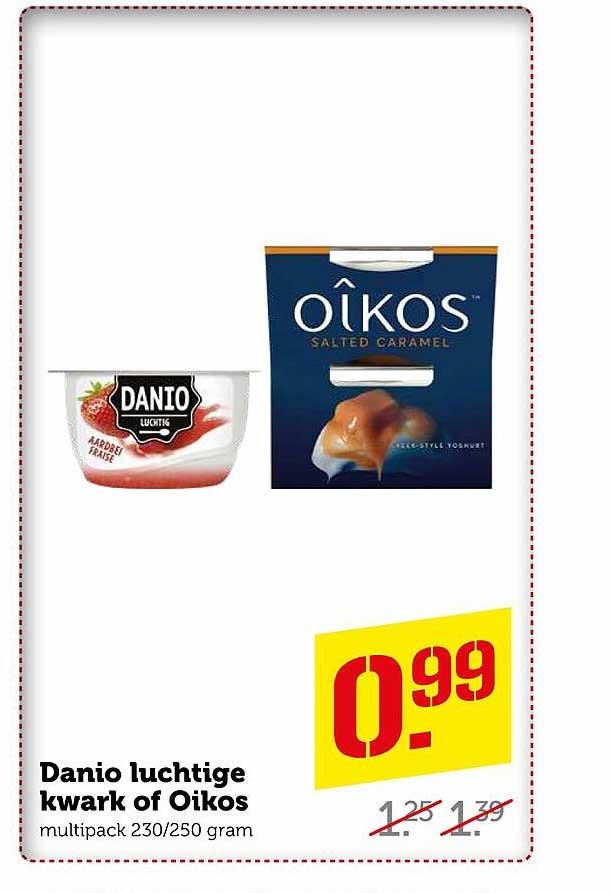 Coop Danio Luchtige Kwark Of Oikos