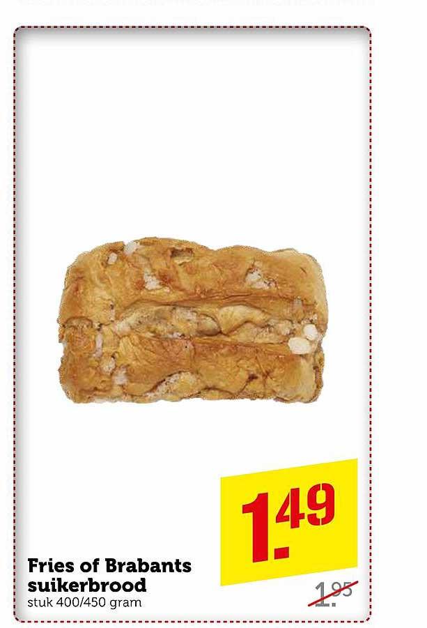Coop Fries Of Brabants Suikerbrood