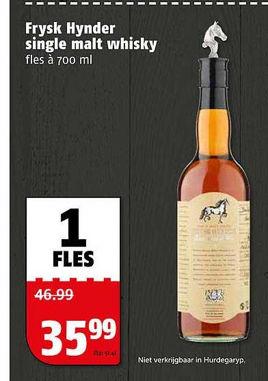 Poiesz Frysk Hynder Single Malt Whisky