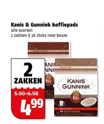 Poiesz Kanis & Gunnink Koffiepads