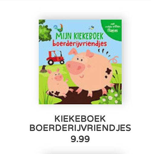 Prénatal Kiekeboek Boerderijvriendjes