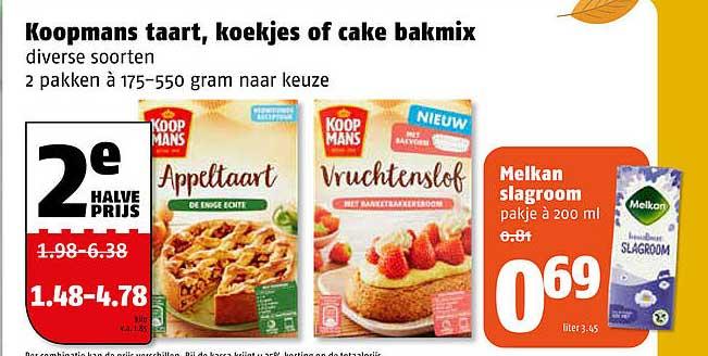 Poiesz Koopmans Taart, Koekjes Of Cake Bakmix