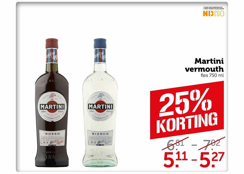Coop Martini Vermouth 25% Korting