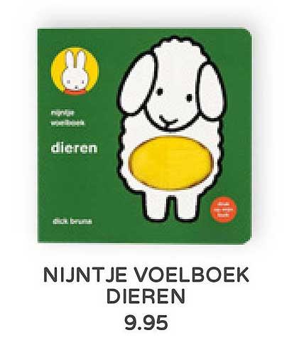 Prénatal Nijntje Voelboek Dieren