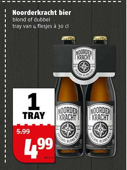 Poiesz Noorderkracht Bier Blond Of Dubbel