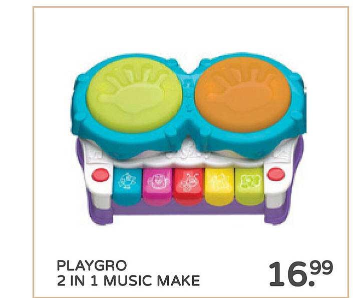 Prénatal Playgro 2 In 1 Music Make