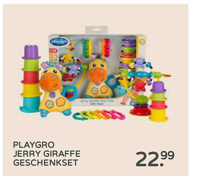 Prénatal Playgro Jerry Giraffe Geschenkset