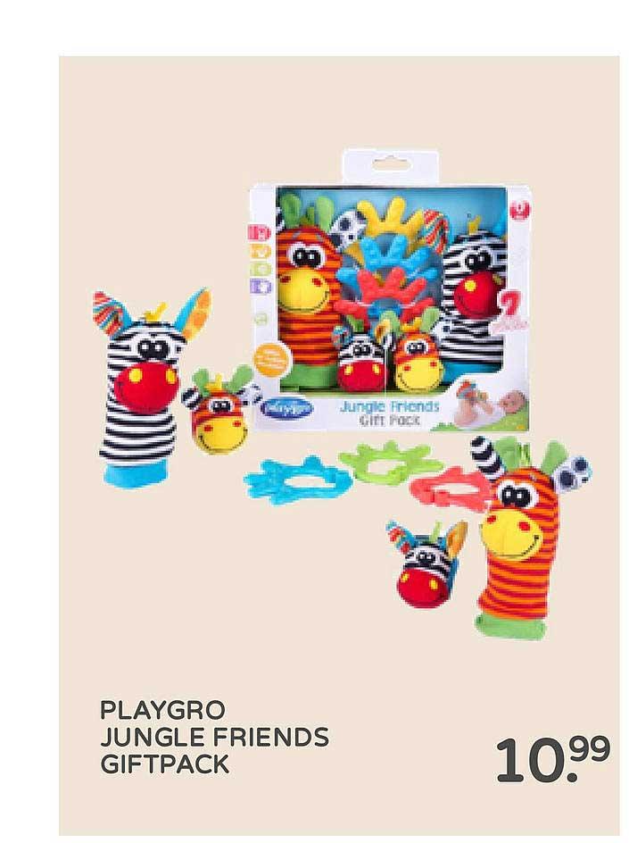 Prénatal Playgro Jungle Friends Giftpack