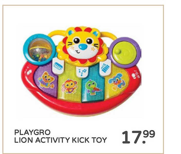 Prénatal Playgro Lion Activity Kick Toy