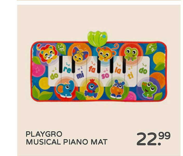 Prénatal Playgro Musical Piano Mat