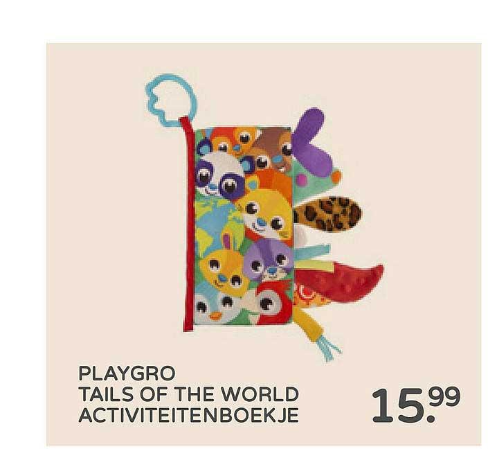 Prénatal Playgro Tails Of The World Activiteitenboekje