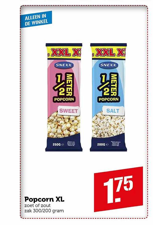 Coop Popcorn XL