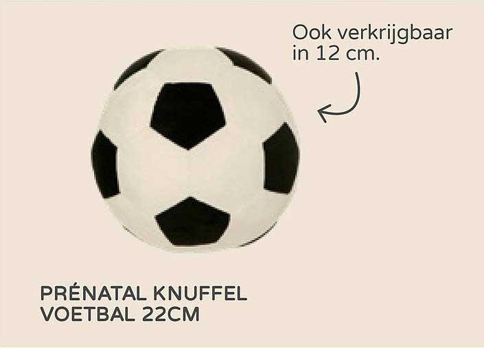 Prénatal Prénatal Knuffel Voetbal 22cm