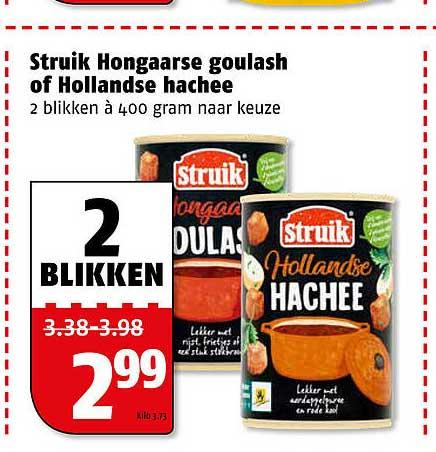 Poiesz Struik Hongaarse Goulash Of Hollandse Hachee