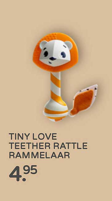 Prénatal Tiny Love Teether Rattle Rammelaar