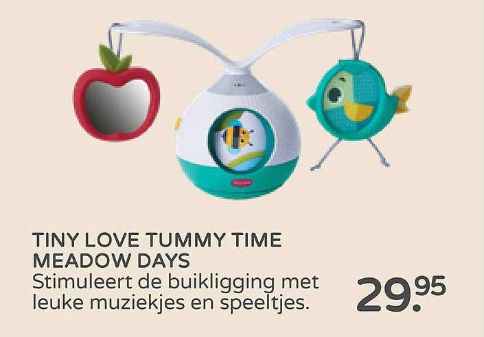 Prénatal Tiny Love Tummy Time Meadow Days