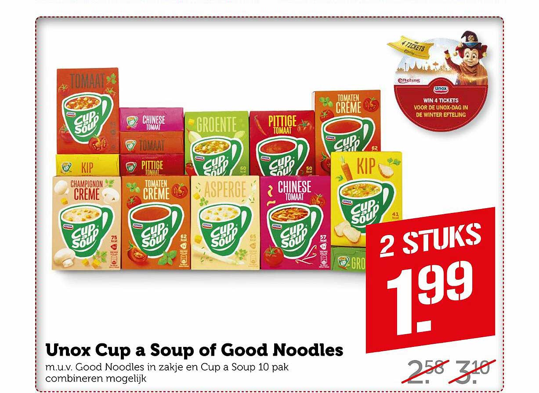 Coop Unox Cup A Soup Of Good Noodles
