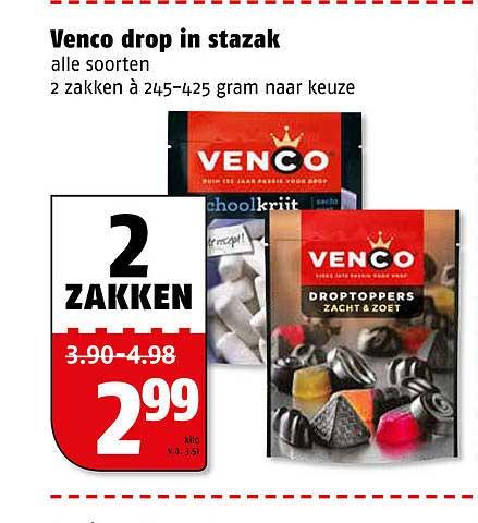 Poiesz Venco Drop In Stazak