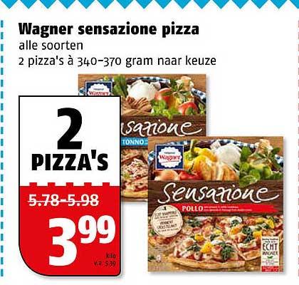 Poiesz Wagner Sensazione Pizza