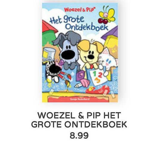 Prénatal Woezel & Pip Het Grote Ontdekboek