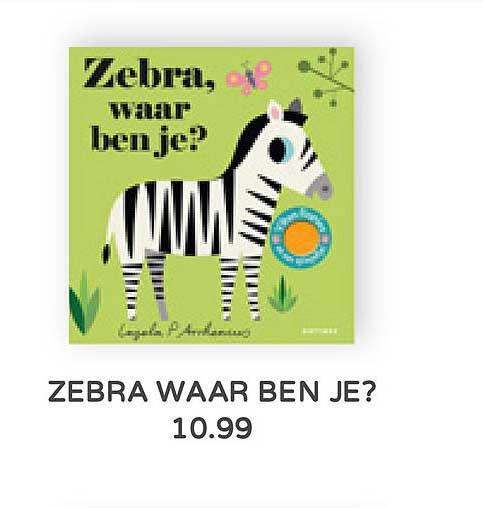 Prénatal Zebra Waar Ben Je?