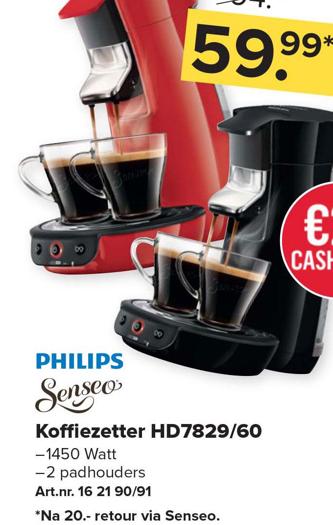 Kijkshop Philips Senseo Koffiezetter Hd7829-60