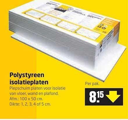 Formido Polystyreen Isolatieplaten