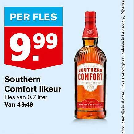 Hoogvliet Southern Comfort Likeur