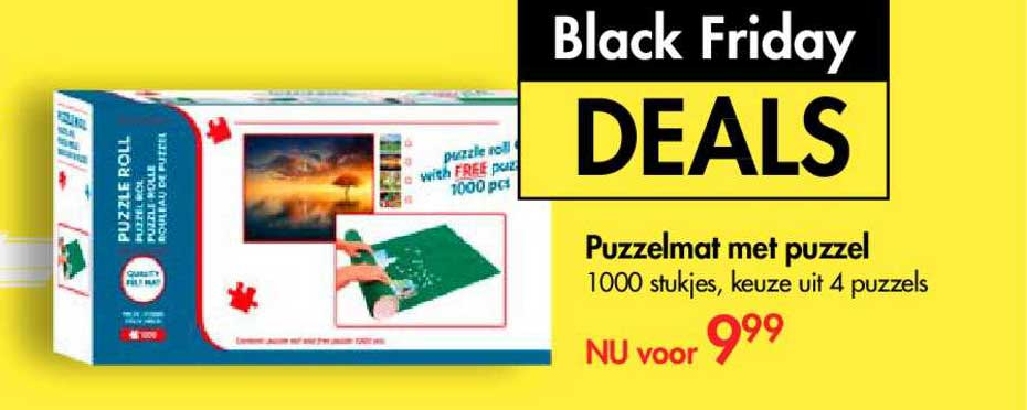 The Read Shop Puzzelmat Met Puzzel