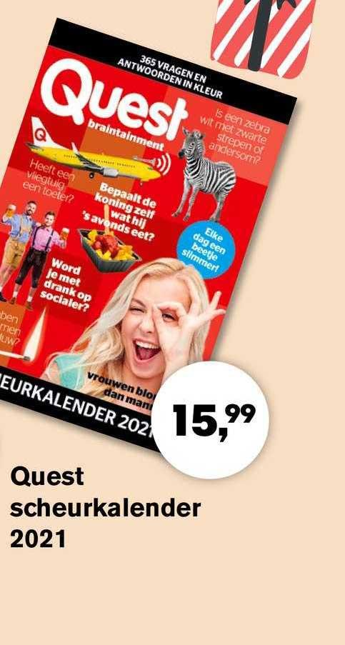 AKO Quest Scheurkalender 2021