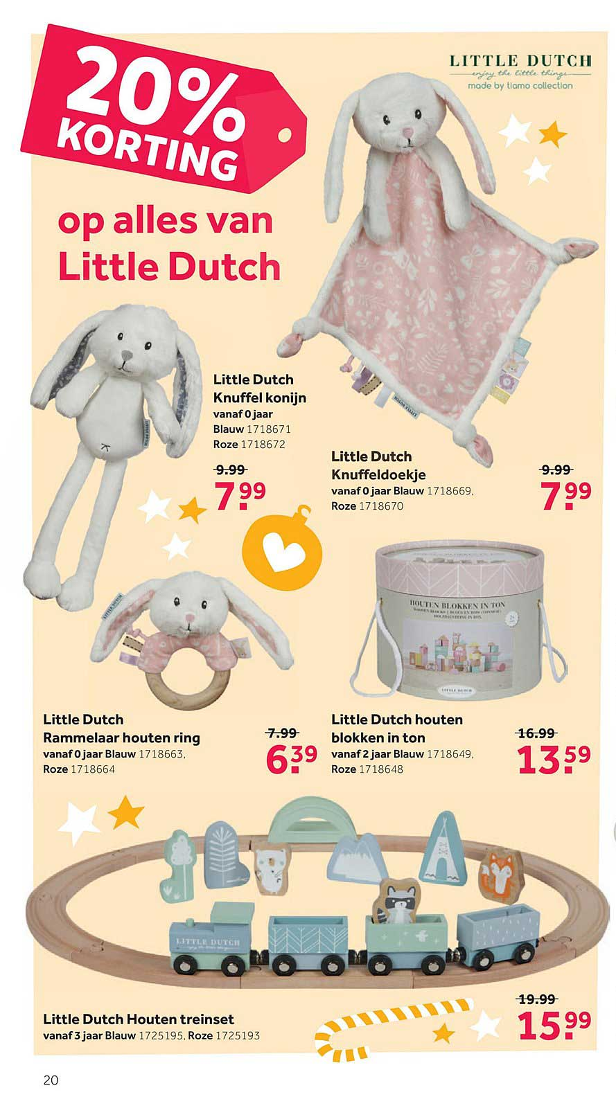 Intertoys 20% Korting Op Alles Van Little Dutch