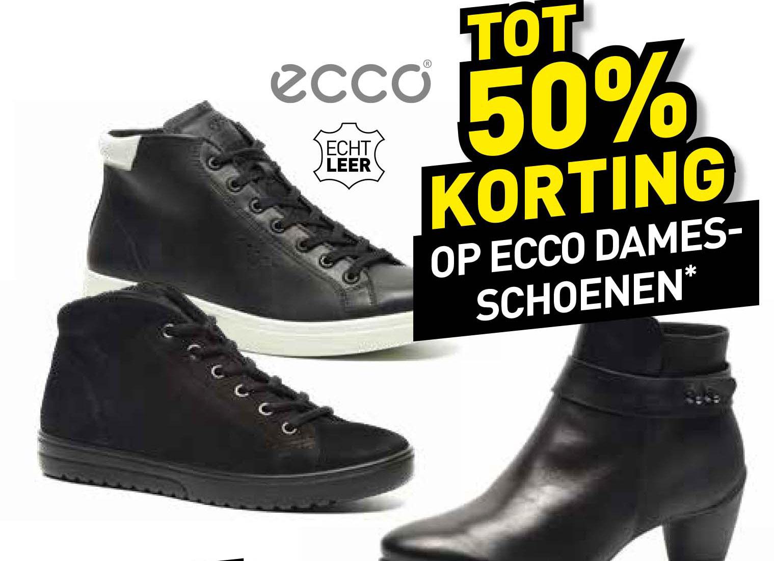 Scapino Tot 50% Korting Op Ecco Damesschoenen