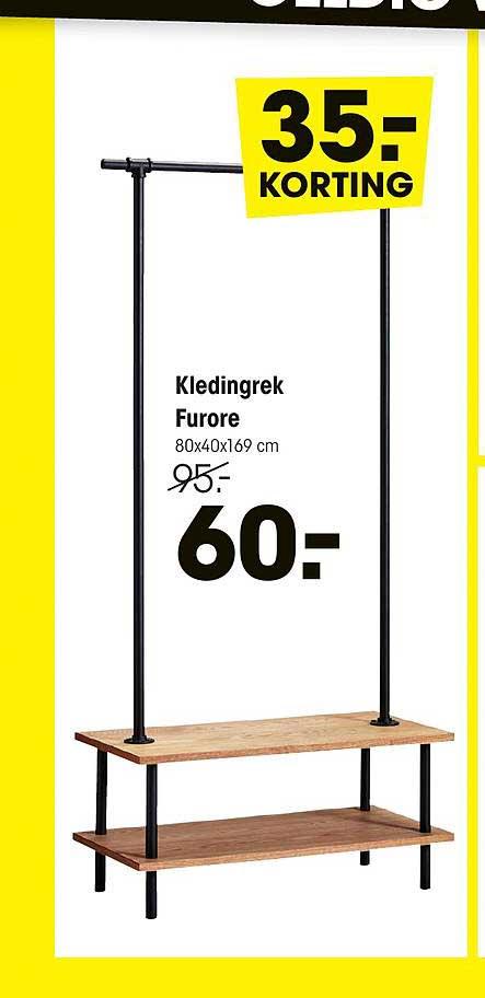 Kwantum Kledingrek Furore 35.- Korting