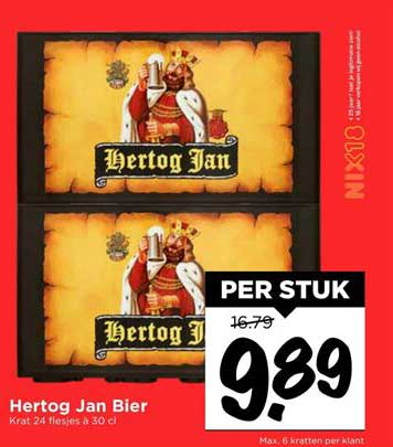 Vomar Hertog Jan Bier