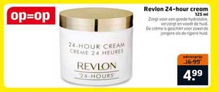 Trekpleister Revlon 24 Hour Cream: €4,99