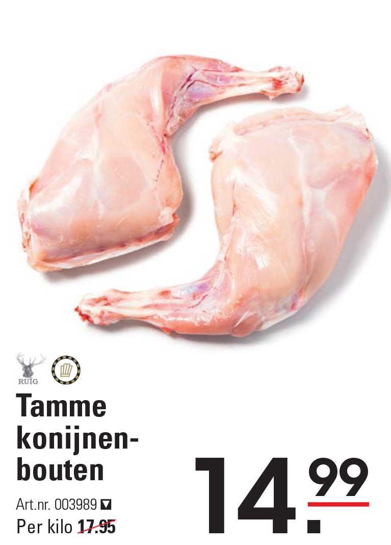Sligro Tamme Konijnenbouten