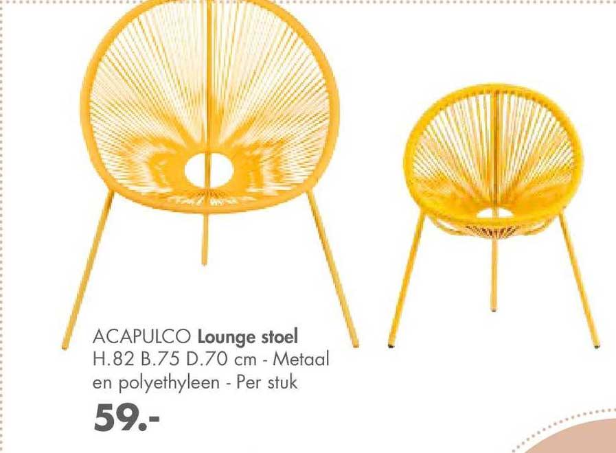 CASA Acapulco Lounge Stoel