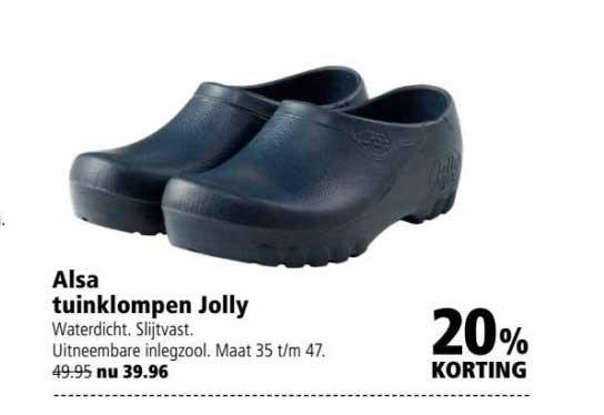 Welkoop Alsa Tuinklompen Jolly: 20% Korting