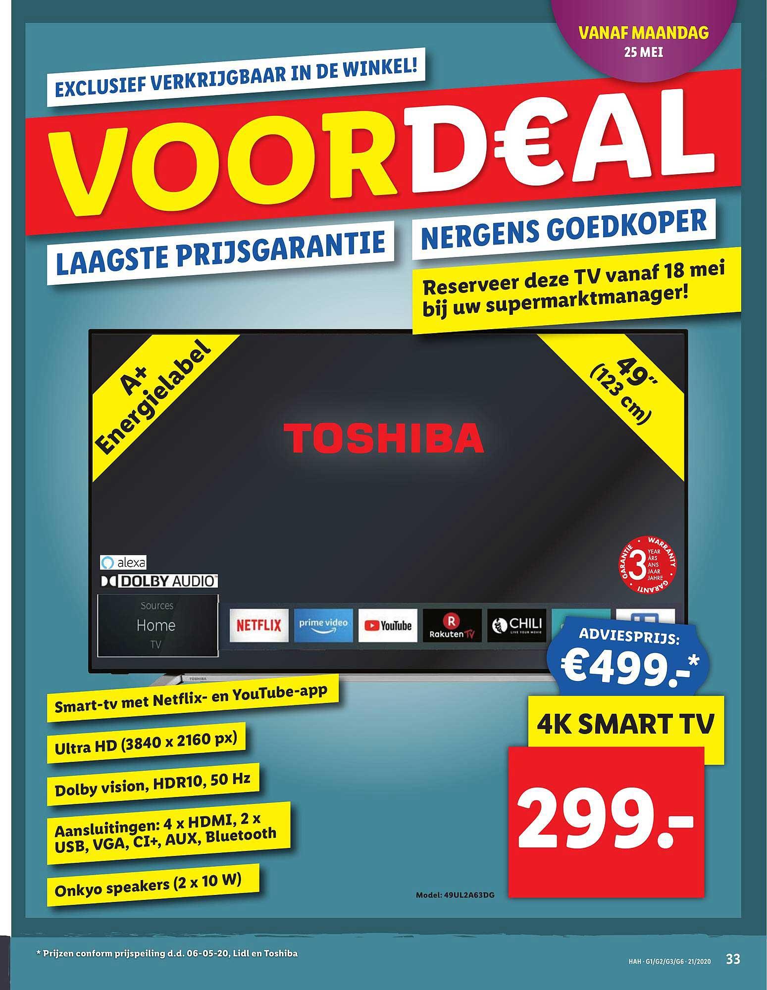 Lidl 4k Smart Tv