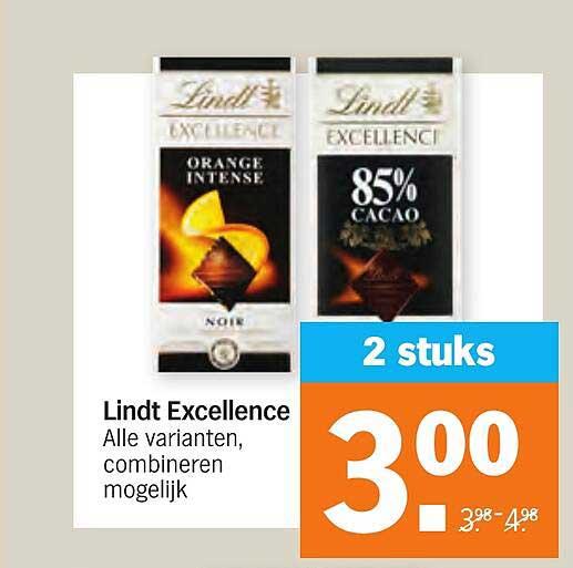 Albert Heijn Lindt Excellence