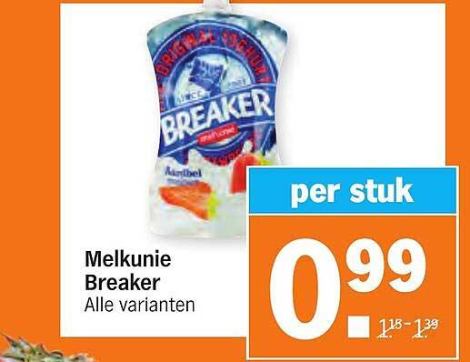 Albert Heijn Melkunie Breaker