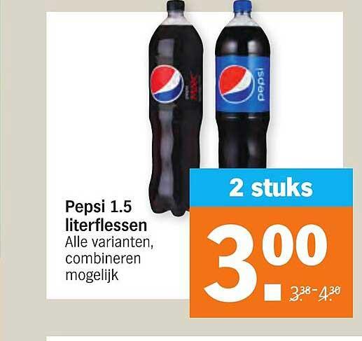 Albert Heijn Pepsi 1.5 Literflessen