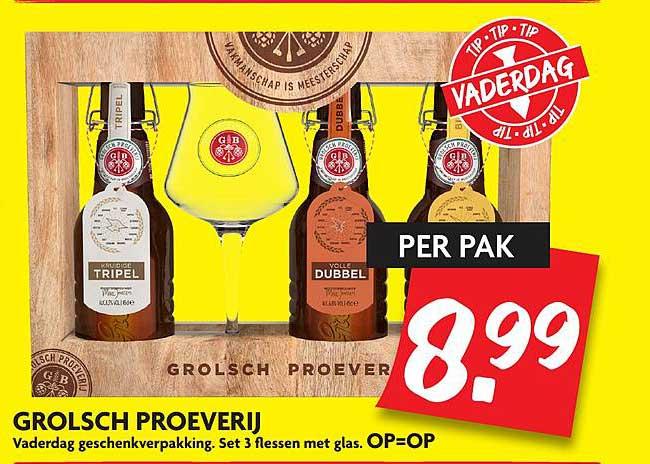 DekaMarkt Grolsch Proeverij
