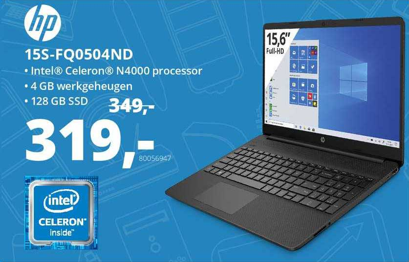 Paradigit HP 15S-FQ0504ND Laptop
