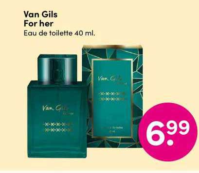 DA Van Gils For Her Eau De Toilette