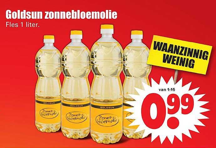 Dirk Goldsun Zonnebloemolie
