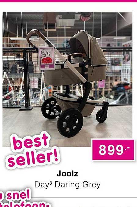 Baby & Tiener Joolz Day3 Daring Grey Kinderwagen